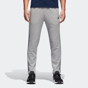Adidas Essentials 3 Stripe Pants Grey BK7448